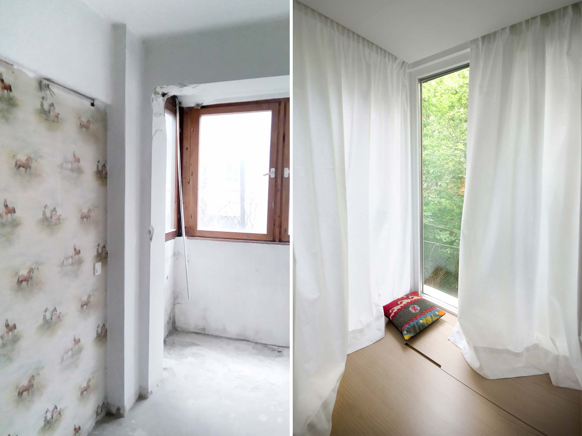 преди и след ремонт и реновация от RINNOVATION
